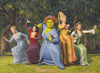 shrek girls